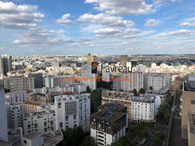 STUDIO  Paris  - Olympiades - 33.73 m2